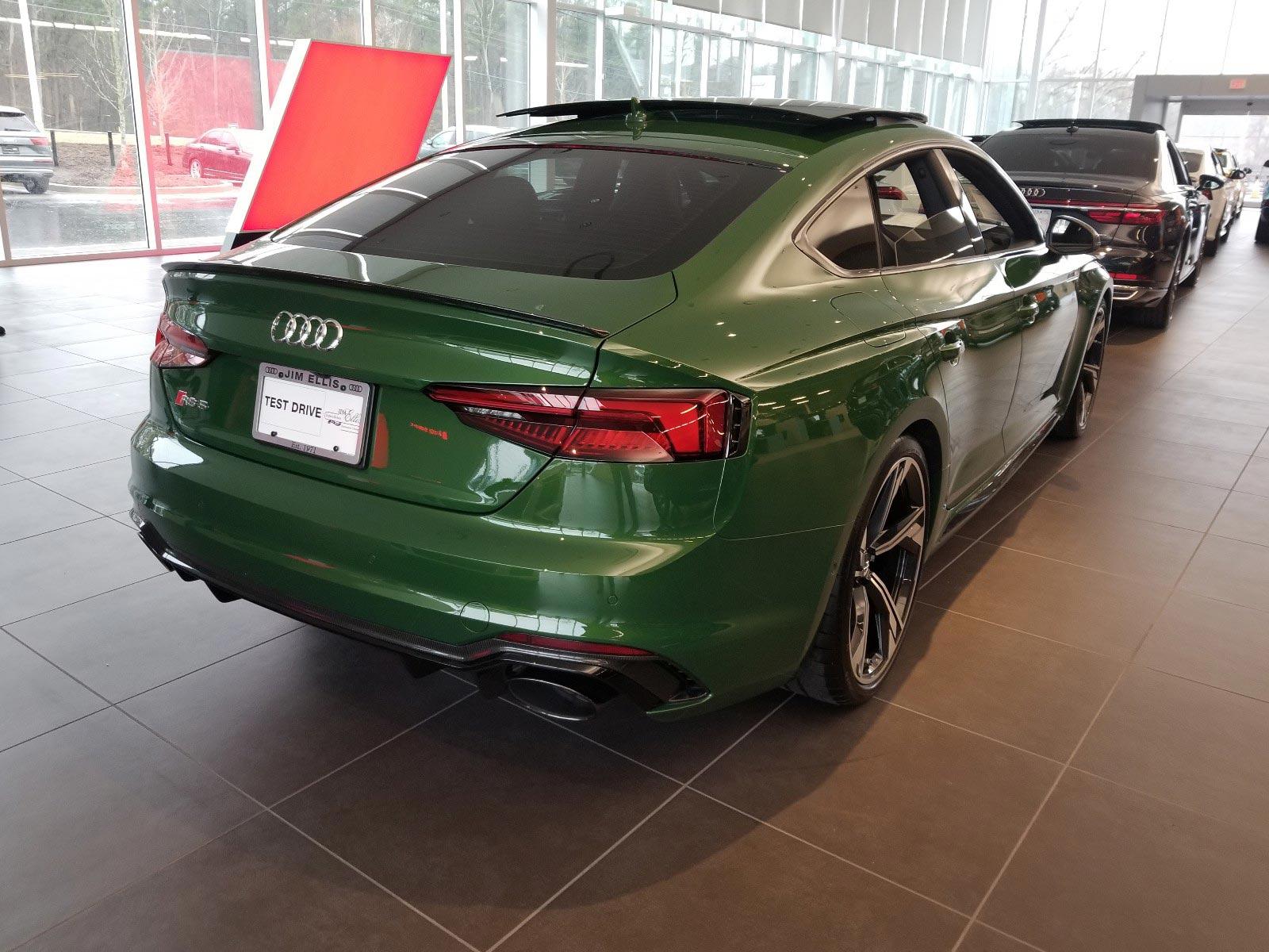 Green Audi RS-5