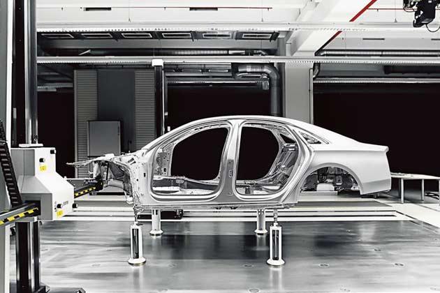 Audi A8 Space Frame Design